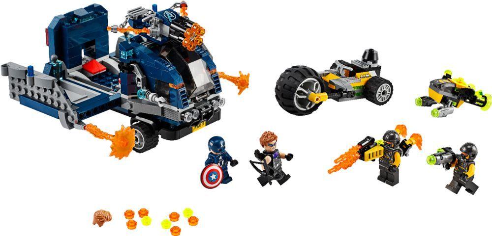 LEGO – Marvel Avengers Truck Take-down 76143