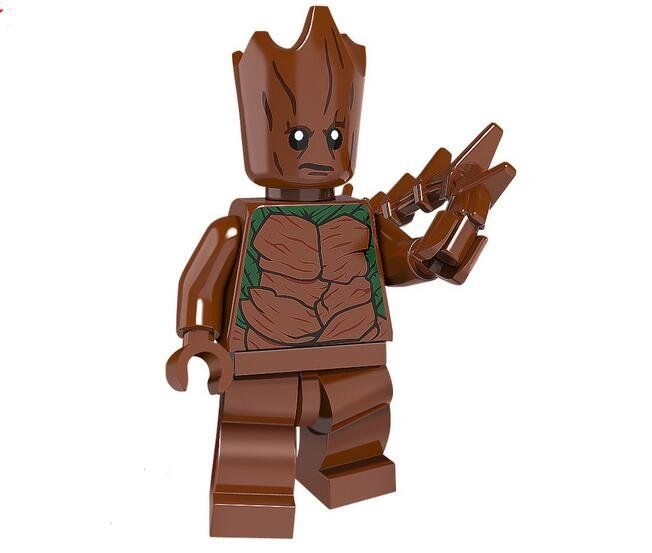Groot Super Heroes Lego Minifigures Compatible Toy