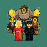 """LEGO Group 3 Princess Bride"" by Dan Shearn"
