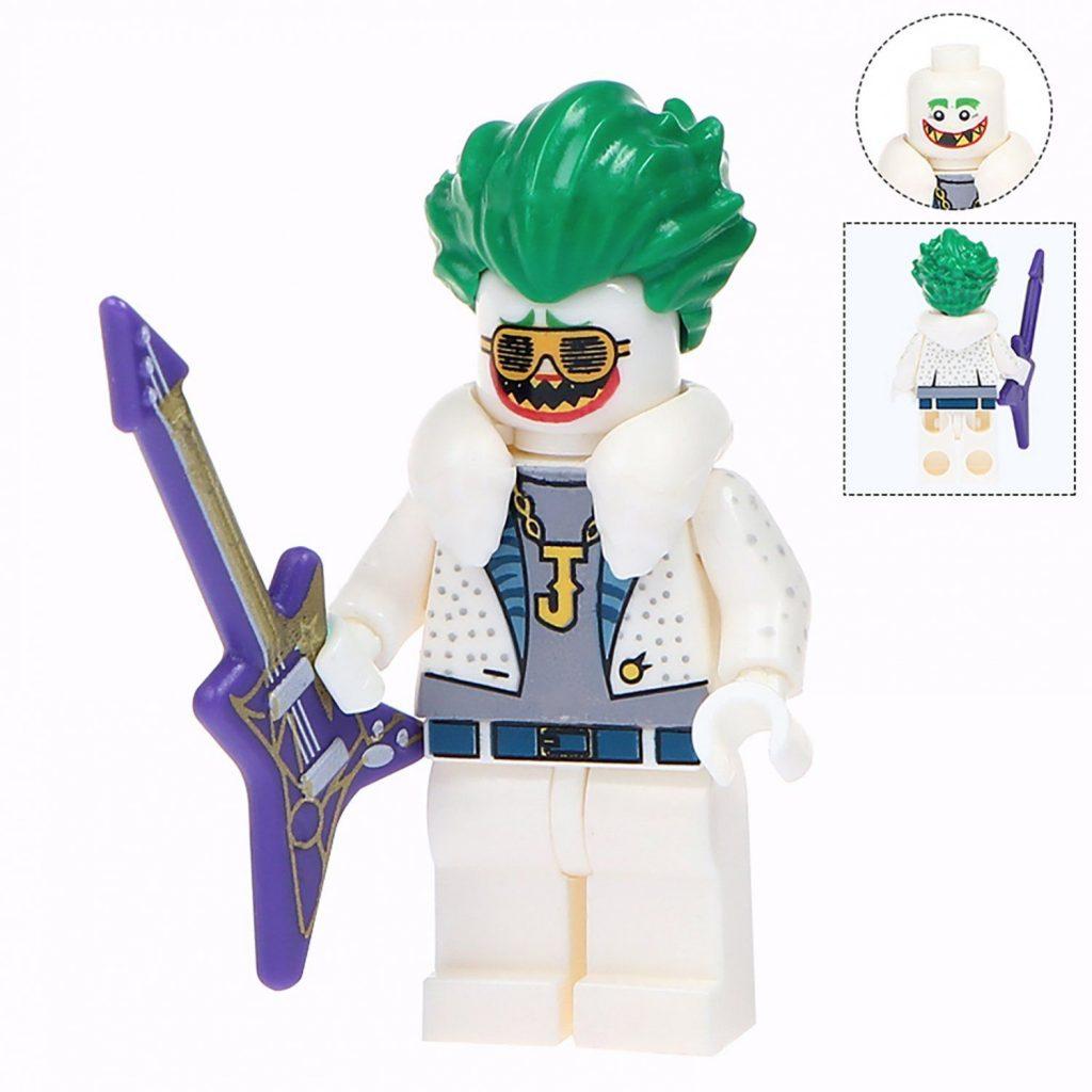 Minifigure White Joker Guitar Suicide Squad DC Comics Super Heroes Compatible Lego Building B…
