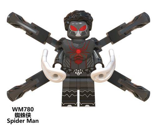 Wolf Spider Spider-Man Super Heroes Custom Minifig