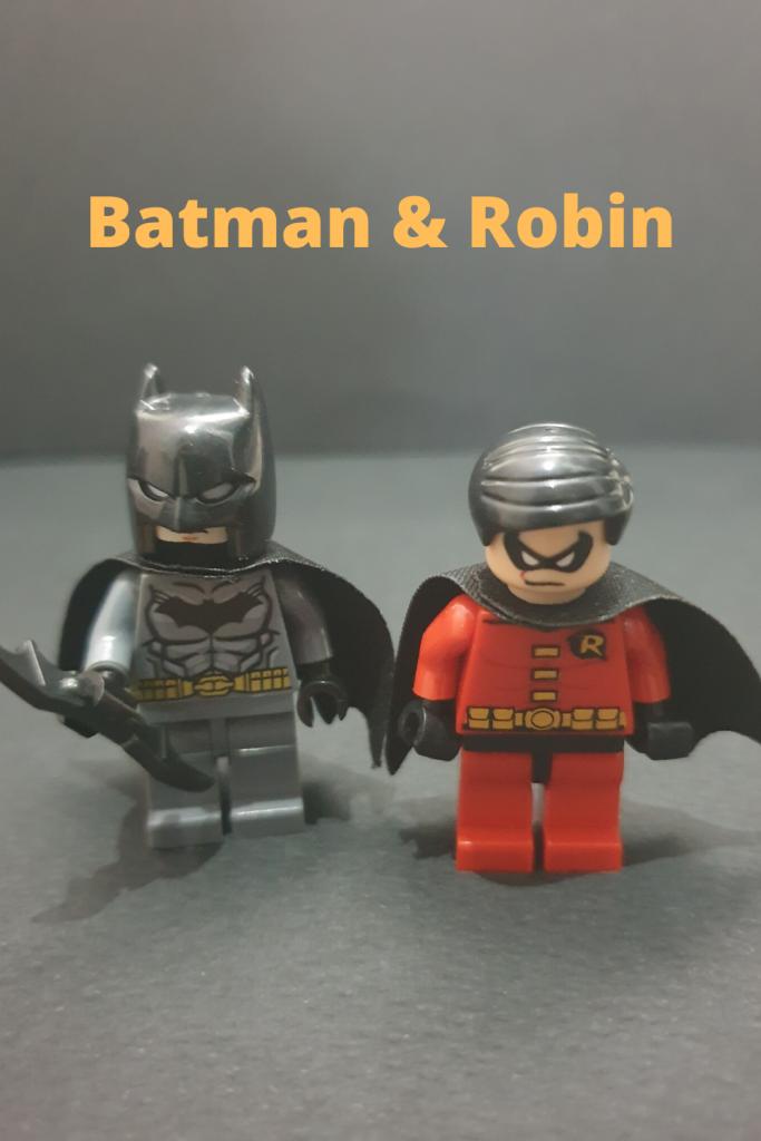 Batman and Robin Minifigures