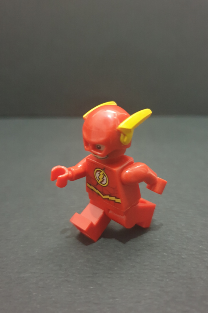 The Flash Running Minifigures