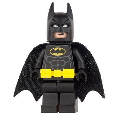 LEGO Super Heroes Mini Figure – Batman – Utility Belt, Head Type 3 | Super Heroes LEGO Minifigures | LEGO Minifigures