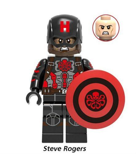 Captain America Avengers Endgame Marvel DC Super Heroes Custom Minifigures Minifigs Fit Lego Blocks X1096