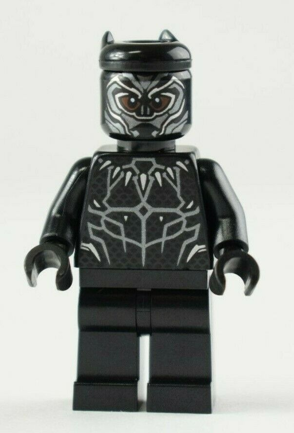 Lego Minifig Super Heroes Black Panther Sh466 76100 76103 for sale online   eBay