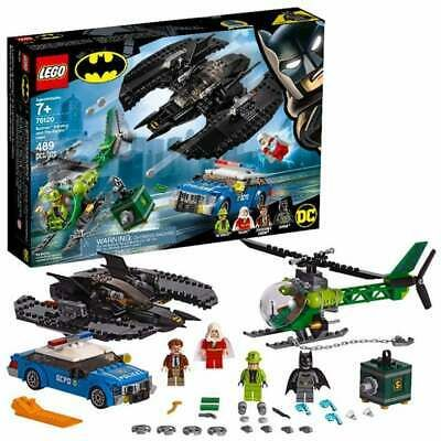 Ad – LEGO DC New Super Heroes BATMAN Batwing and The Riddler Heist Set (76120) N…