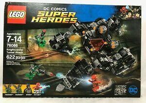 LEGO DC Comics Super Heroes 76086 Knightcrawler Tunnel Attack -NEW Sealed- Flash