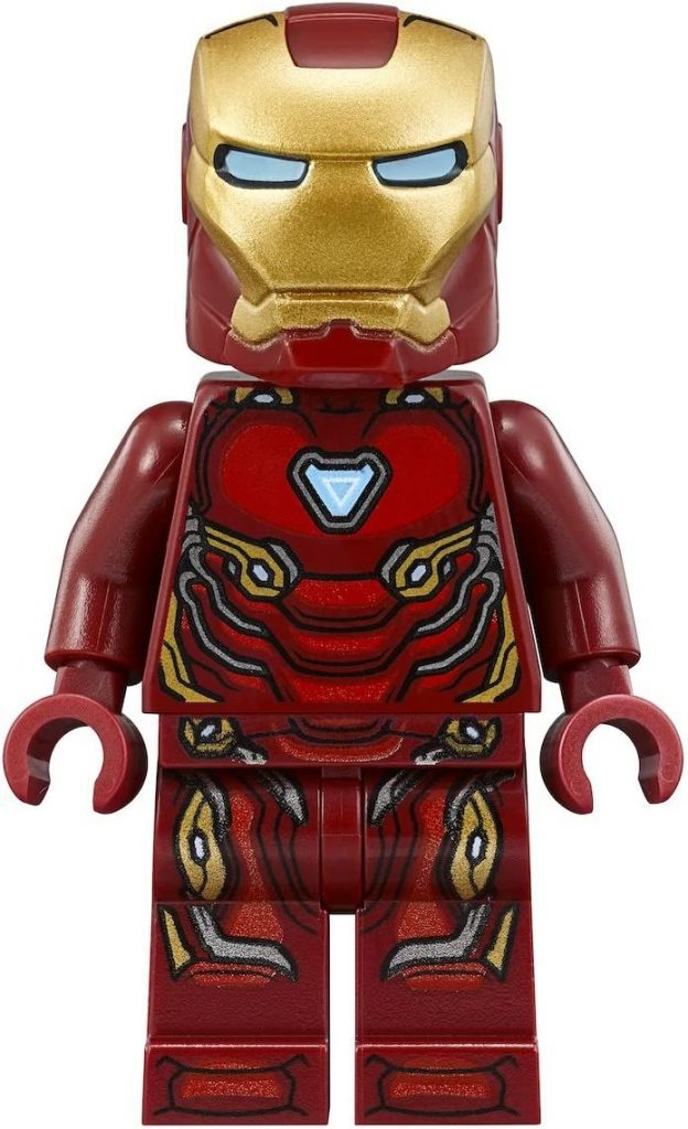 Lego Marvel Super Heroes Avengers Infinity War Minifigure – Iron Man Tony Stark (76108)