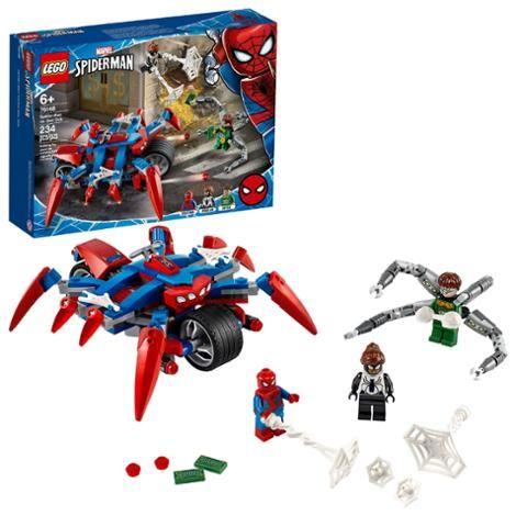 Spider-Man vs. Doc Ock Superhero Playset with 3 Minifigures