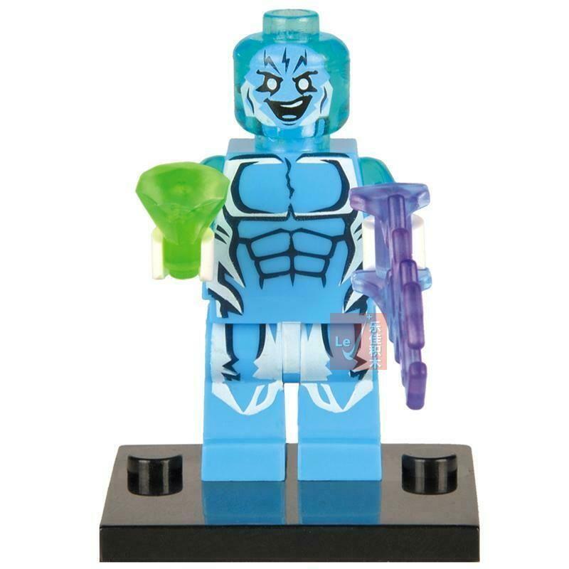 The Marvel Hulk Avengers Super-man Iron Man DC Super Heroes Minifigures Toys