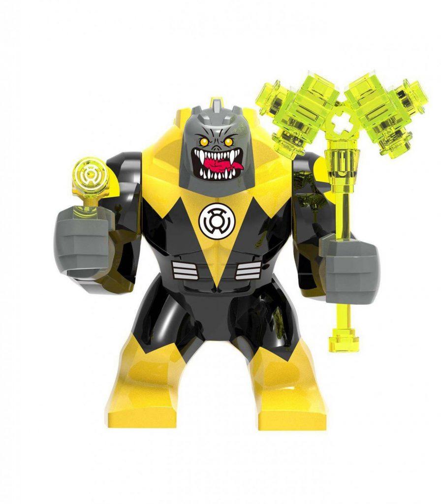 Super Heroes Sinestro Minifigures Compatible Lego DC Minifigure Toy