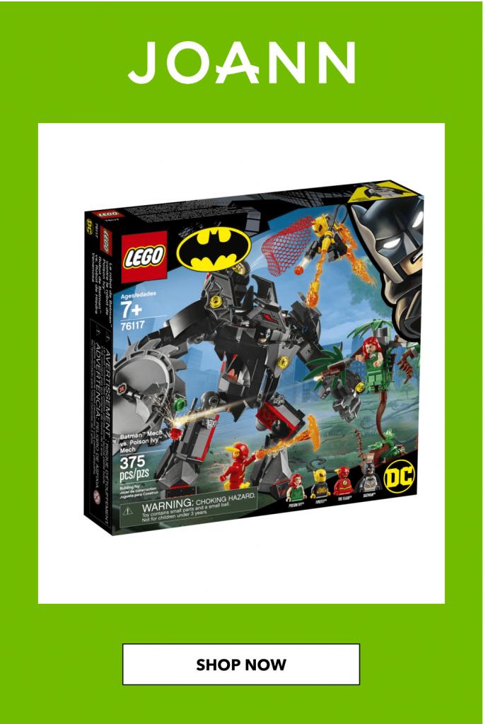 LEGO Super Heroes Batman Mech vs. Poison Ivy Mech Set