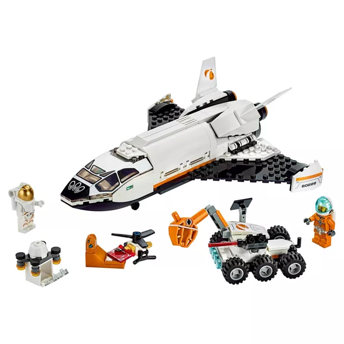 LEGO City Space Mars Research Shuttle 60226 Space Shuttle Toy Building Kit With …