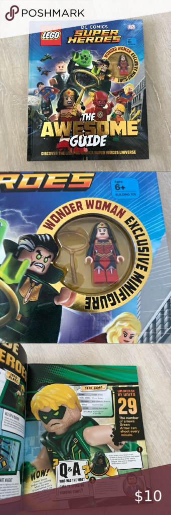 LEGO DC Comics Super Heroes The Awesome Guide LEGO DC Comics Super Heroes The Aw…