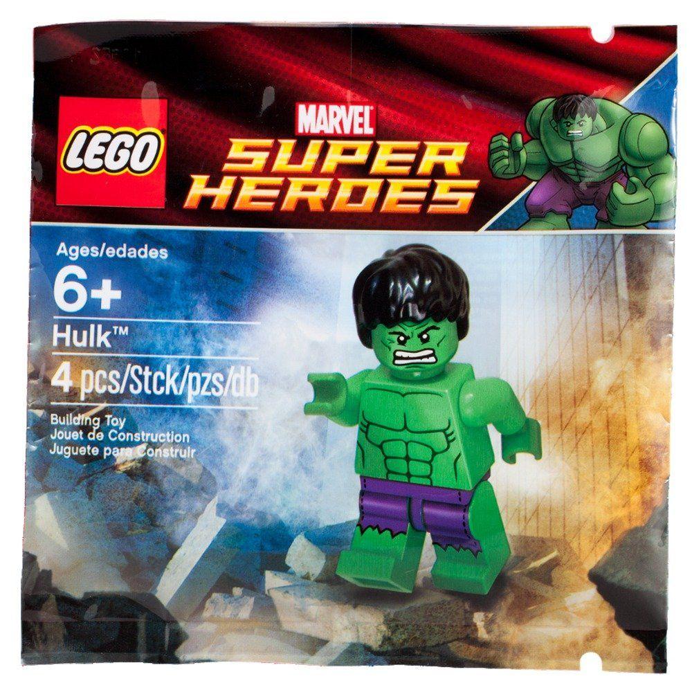 LEGO Super Heroes: Exklusive Minifigur Hulk 5000022 (Beutel)