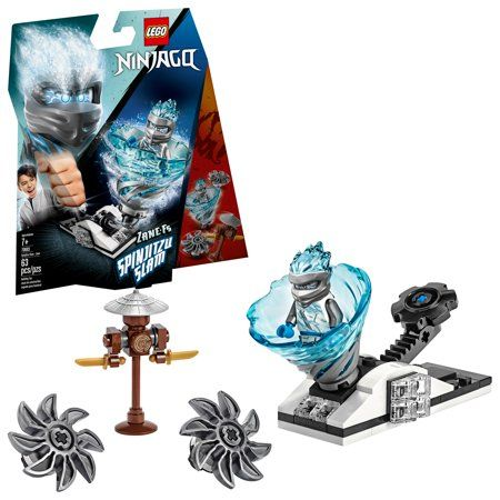 LEGO Ninjago Spinjitzu Slam – Zane 70683 Ninja Toy Building Kit (63 Pieces) – Walmart.com