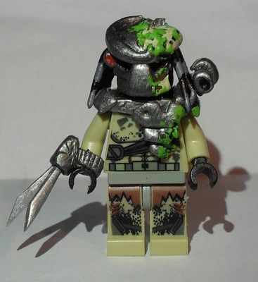 Bleeding Battle Damaged Custom Minifigure