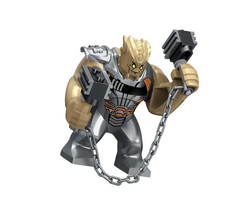 Cull Obsidian Minifigures Avengers Infinity War Super Heroes Lego Minifigures Compatible Toys