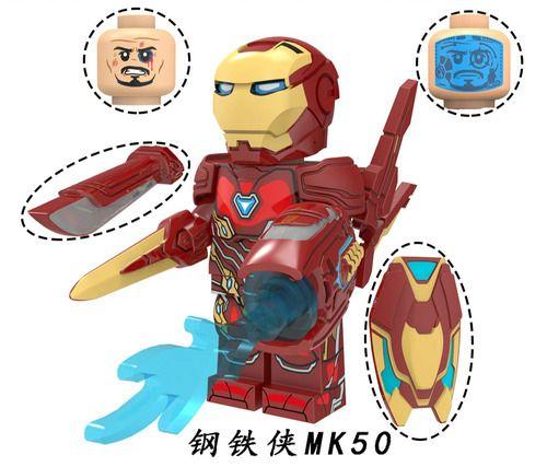 Iron Man MK50 Avengers Endgame Minifigs Fit Lego