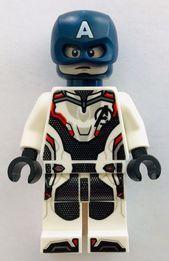 NEUE LEGO SUPER HEROES Minifigur: CAPTAIN AMERICA LEGO Avengers MARVEL Minifigur…