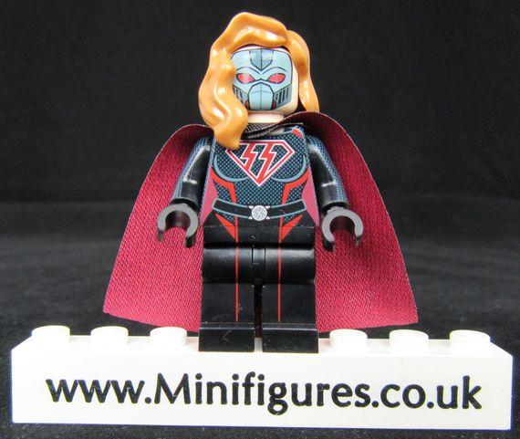 Naughty Lass Custom Minifigure | Minifigures.co.uk