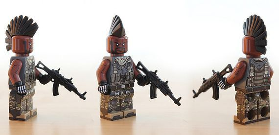 Mercenary Custom Minifigure | Custom LEGO Minifigures
