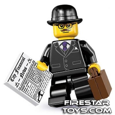 LEGO Minifigures – Businessman | Minifigures Series 8 | Collectable LEGO Minifigures