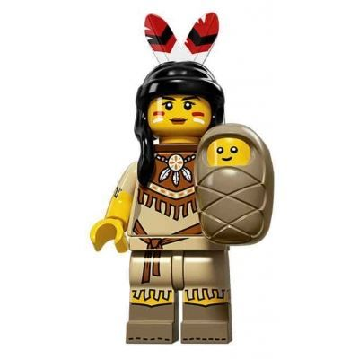 LEGO Minifigures – Tribal Woman | Minifigures Series 15 | Collectable LEGO Minifigures
