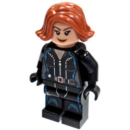 LEGO Marvel Super Heroes Black Widow Minifigure [Civil War] [No Packaging] – Walmart.com