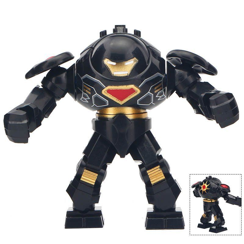 Minifigure Hulkbuster Black Marvel Super Heroes Compatible Lego Building Block Toys