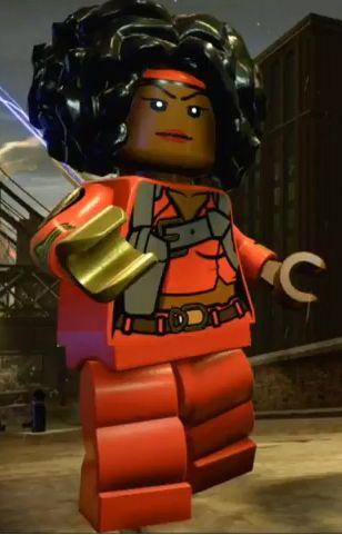 Mercedes KNIGHT (MISTY KNIGHT) | Earth 13122 | Lego Marvel SUPER HEROES
