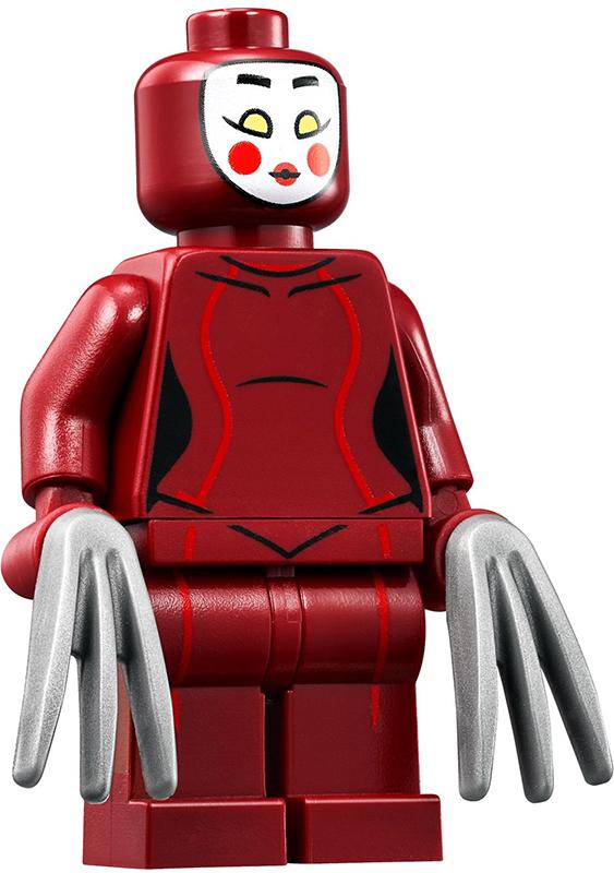 Minifig sh316 : Lego Kabuki Twin [Super Heroes:The LEGO Batman Movie] – BrickLink Reference Catalog