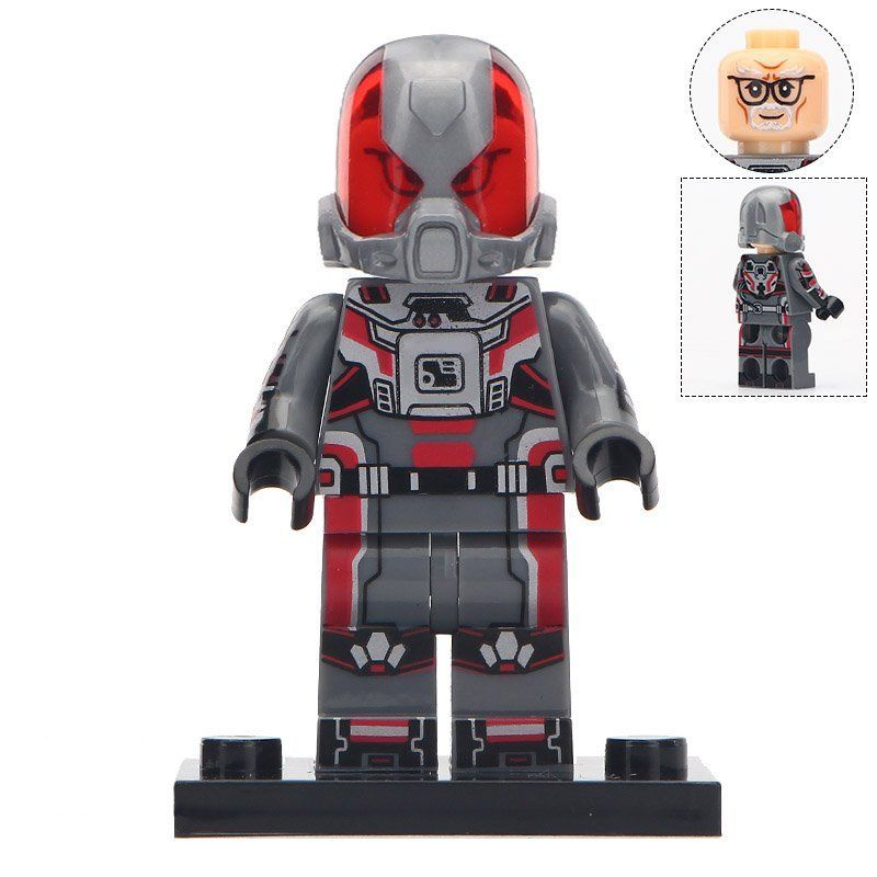 Minifigure Hank Pym Ant-Man Marvel Super Heroes Compatible Lego Building Block Toys