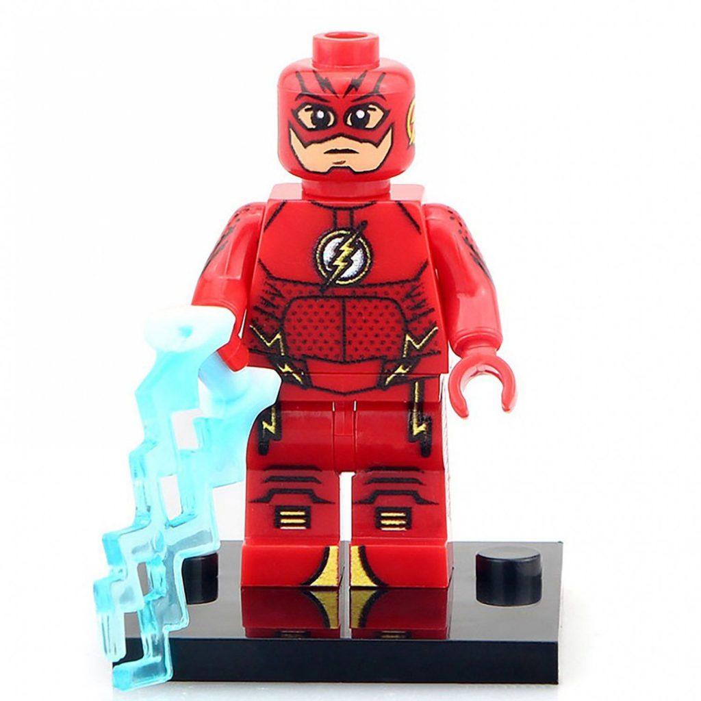 Minifigure Flash DC Comics Super Heroes Compatible Lego Building Block Toys