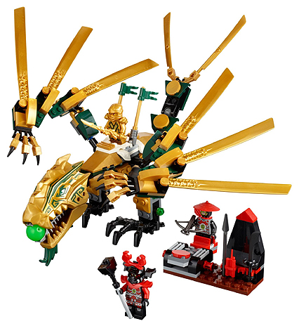 BrickLink – Set 70503-1 : Lego The Golden Dragon [Ninjago:The Final Battle] – Br…