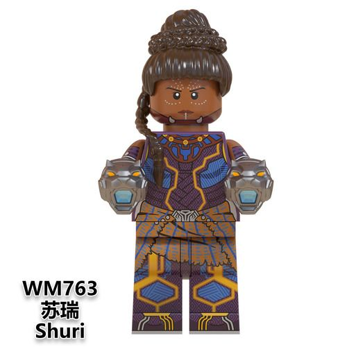 Shuri Black Panther Avengers Endgame Marvel SuperHeroes Minifigures Minifigs Fit Lego W763