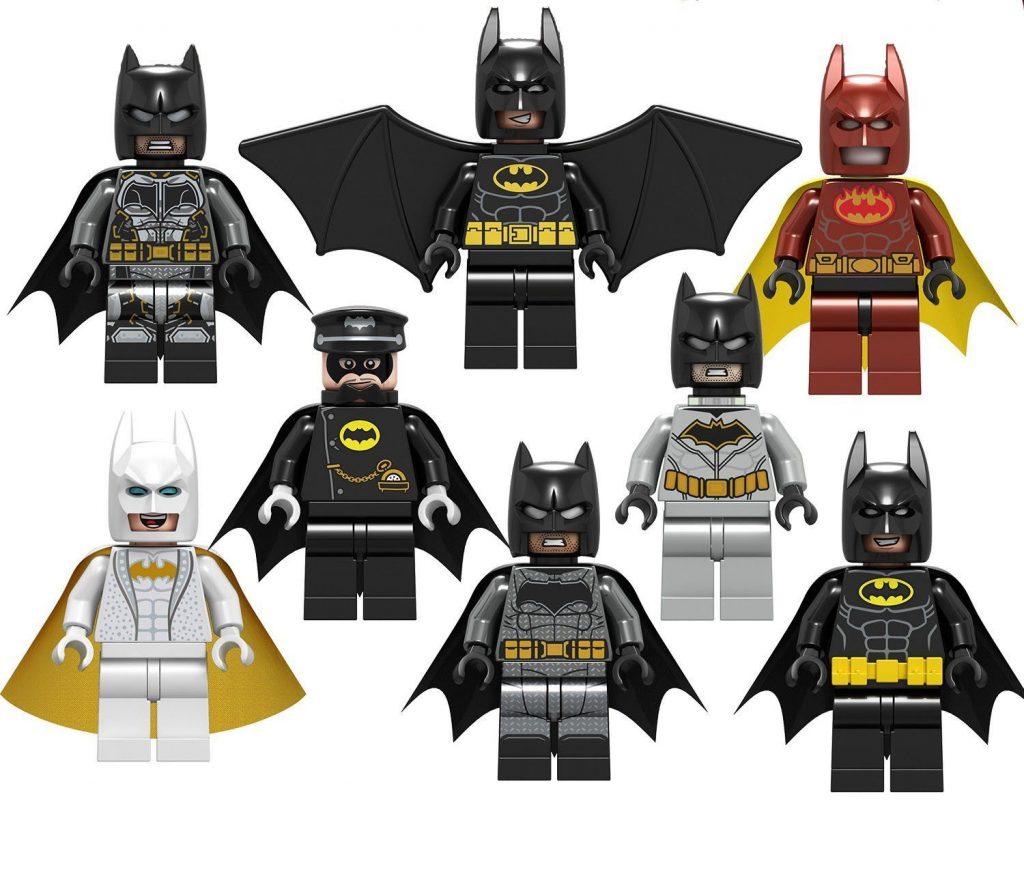 Batman movie Bruce Wayne Minifigures Compatible Lego Super Heroes sets