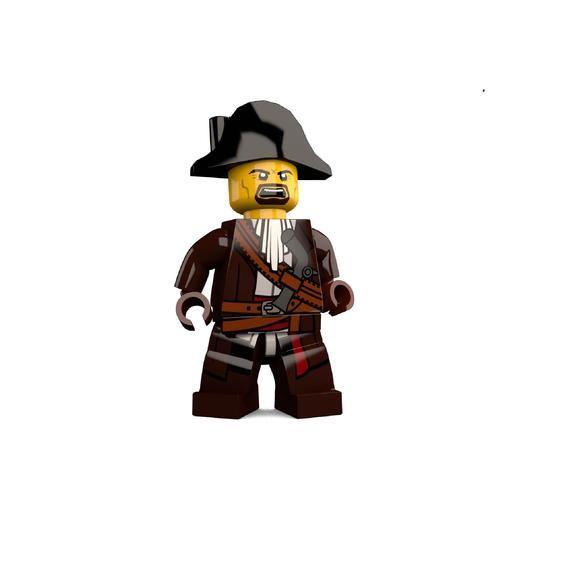 Pirate James Brickster Custom LEGO Minifigure LIMITED EDITION