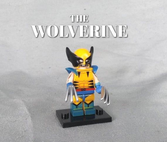 X-Men, Xavier, Wolverine, Marvel Gifts, Avengers Party, Building Block Set, Cust…