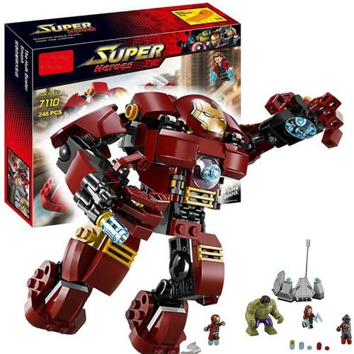 HulkBuster Ultron Iron Man Captain America Marvel Super Heroes Block Set Minifigs Fit Lego NO BOX DL7110