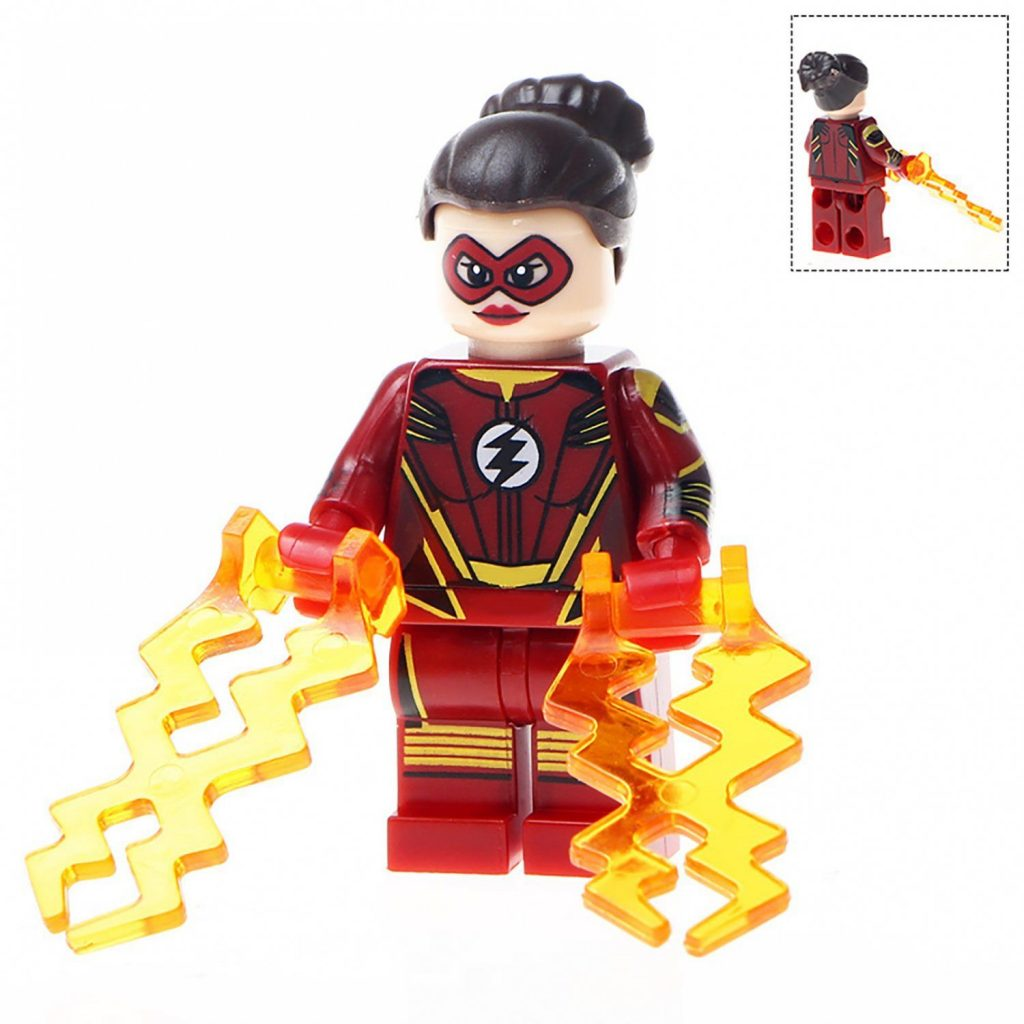 Minifigure Jesse Chambers Quick Flash DC Comics Super Heroes Compatible Lego Building Block T…