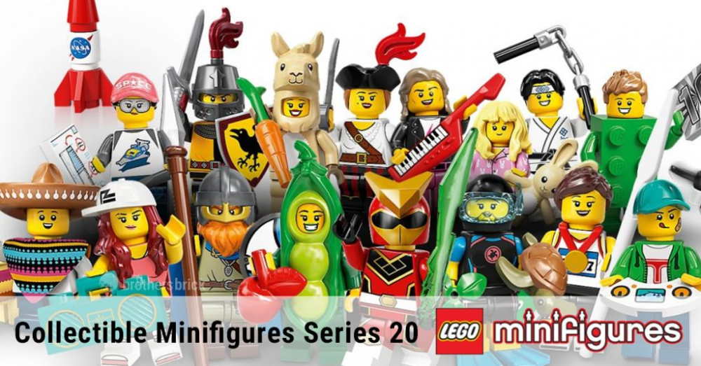 LEGO Collectible Minifigure Series 20 Cover Image | The Brothers Brick