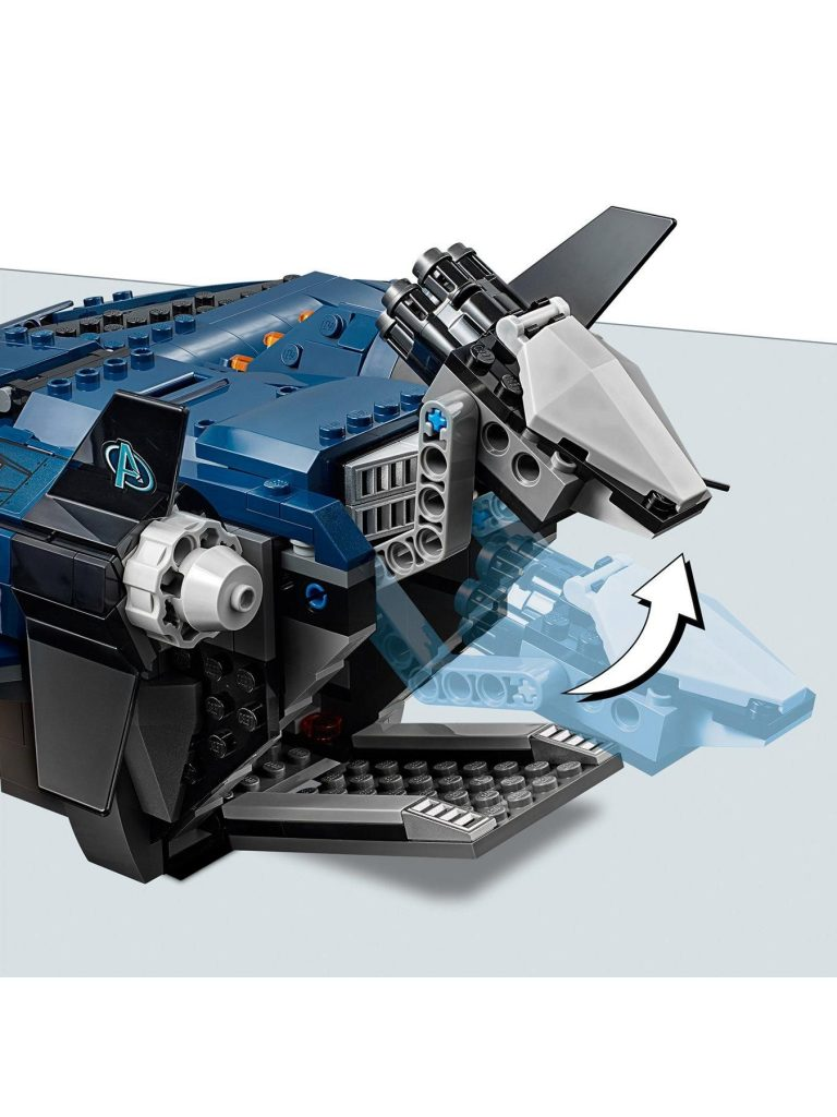 76126 Ultimate Quinjet Toy
