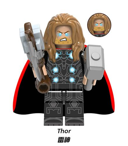 Thor Endgame Final Battle Custom Minifigs Lego