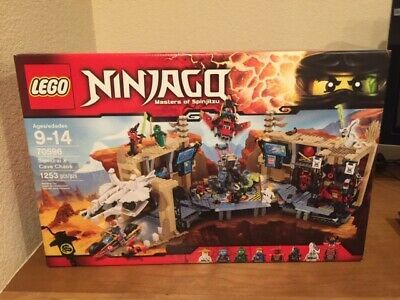 LEGO Ninjago Samurai X Cave Chaos 70596; New and Factory Sealed!
