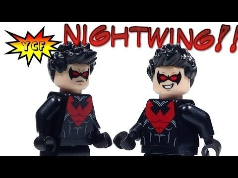 Exclusive! LEGO Nightwing 2014 Super Heroes REAL Minifigure Review