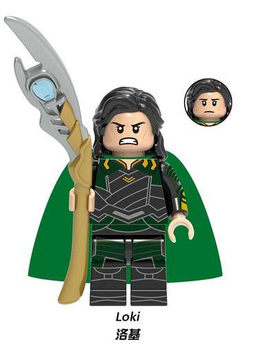 Loki Thor Avengers Custom Minifigs Minifigures Lego