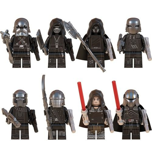 8PCS Star Wars Knights of Ren & Starkiller Minifigs