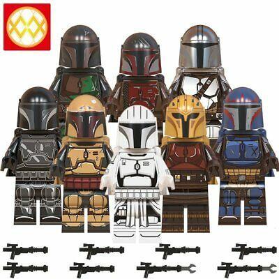 Ad – ORIGINAL STAR WARS The Mandalorian ARMY 10pcs + 1Jet Pack Custom Lego Minif…